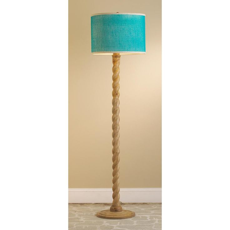 Twisted Column Floor Lamp Base 375 Shades