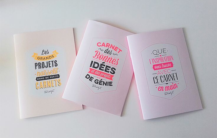 Carnets Mr Wonderful