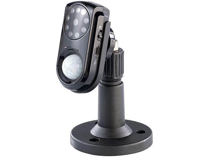 VisorTech GSM-Überwachungskamera mit PIR-Sensor, Nachtsicht & Mikrofon (Bild 1)
