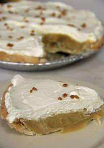 Irresistible Caramel Cream Pie