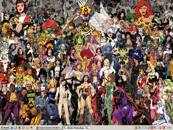 X Men Anime Characters Database : Women of dc wallpaper by ciro on deviantart