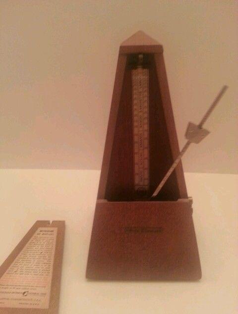 Seth Thomas Metronome De Maelzel - Musical Timer - Hardwood - Metal Pendulum  #SethThomas SOLD. Yolanda@YKP