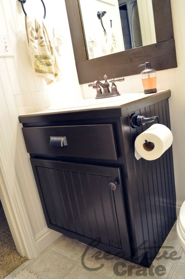 1000 ideas about vanity redo on pinterest interior - How to redo bathroom cabinets for cheap ...