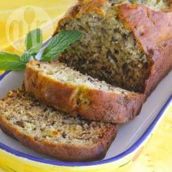 Glossy and moist banana bread @ allrecipes.co.uk