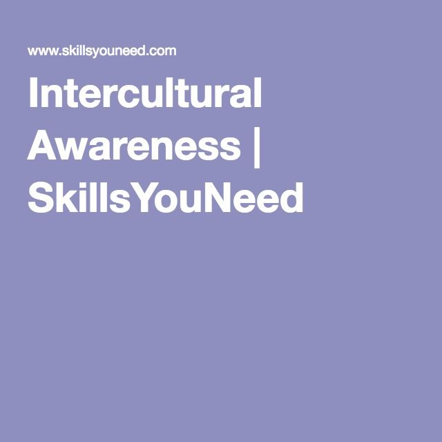 Intercultural Awareness |