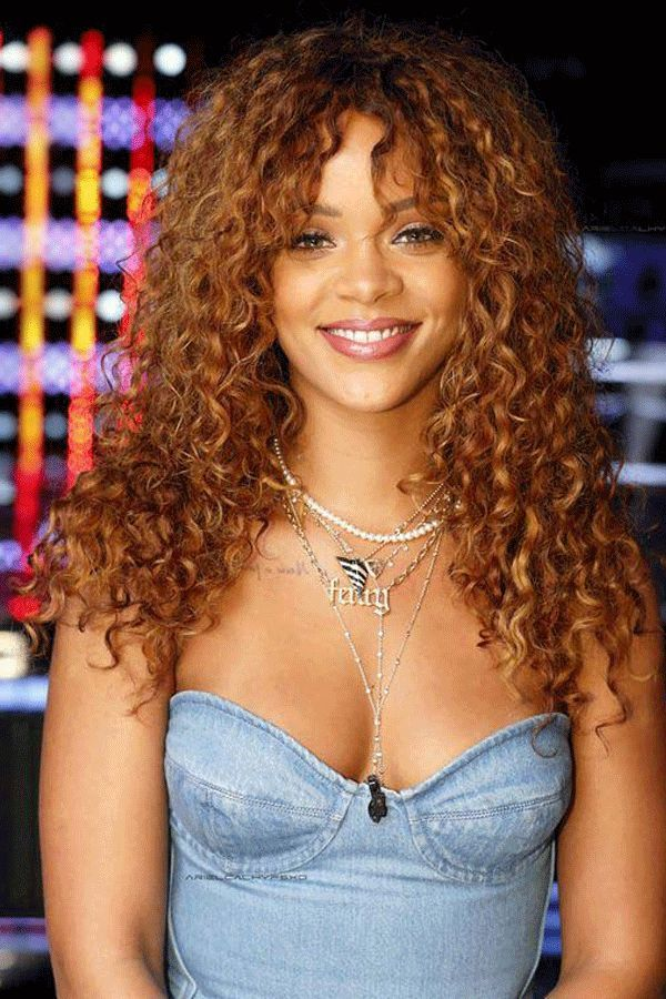 35++ Rihanna curly hairstyles inspirations