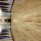 Alnwick Town Hall after sanding