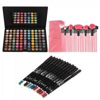 88 Color Eyeshadow Palette + 24pcs Cosmetic