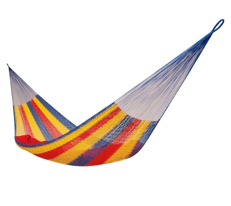 Mexická hojdacia sieť Single Juliana, 150 kg, tricolora - Mexické siete