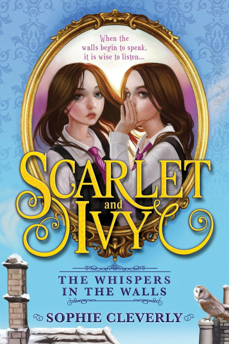 The US edition of The Whispers in the Walls
