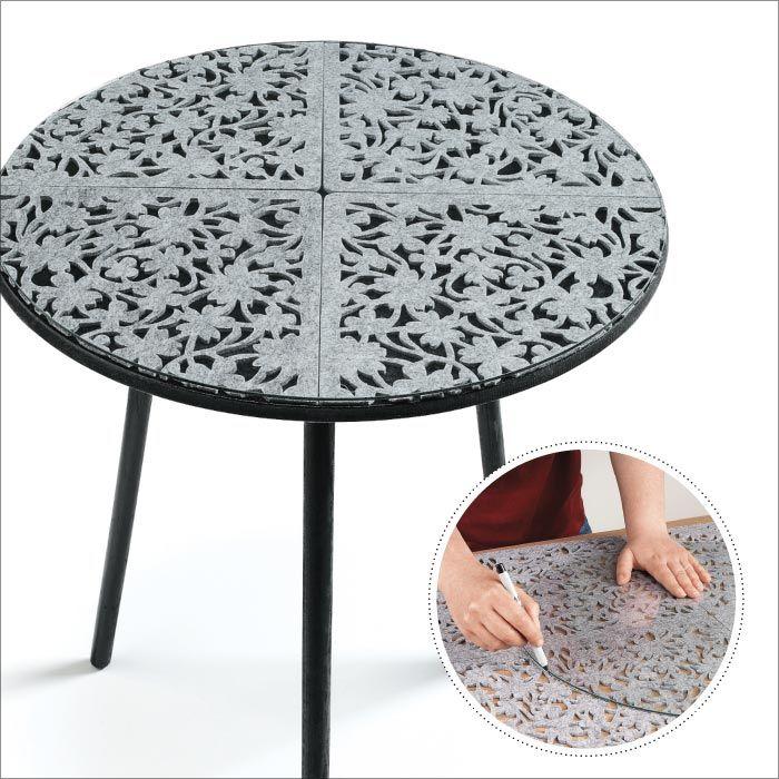 Patio Table, Round Plastic Patio Table