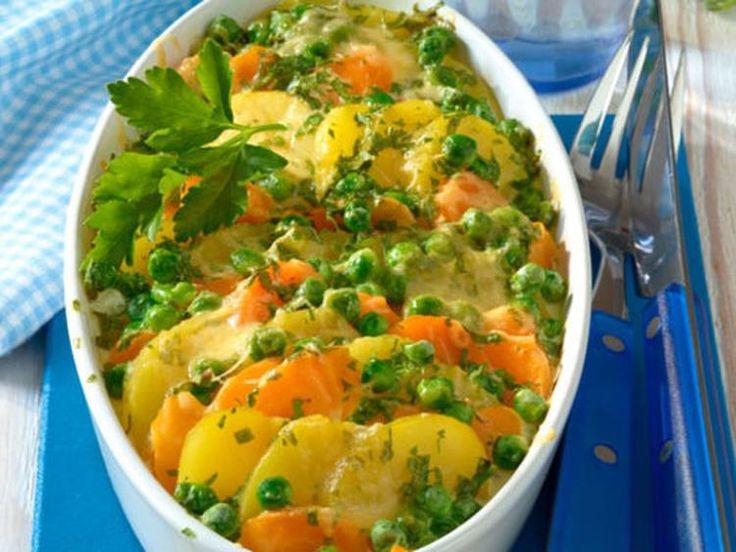 Sehe dir das Foto von HobbyKoechin mit dem Titel Kartoffel-Gemüse-Auflauf ein vegetarisches Gratin Rezept und total lecker und andere inspirierende Bilder auf Spaaz.de an.
