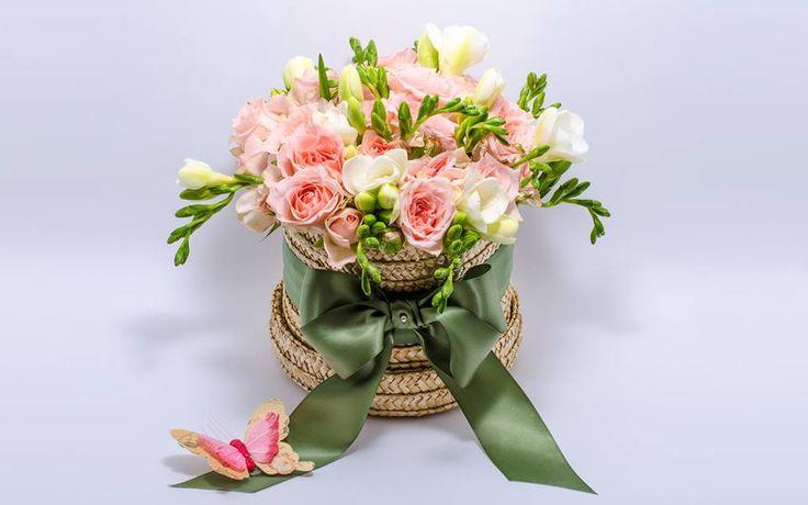#millefleur Mother's Day flower arrangement