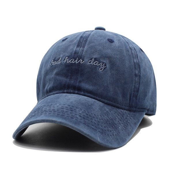 fff865bf18f8 Women Baseball Cap with text Bad Hair Day - This Hot Vouge Fashion just  sold on Wrhel.com Want to know what she paid for it  Check it out.   HatsForWomen