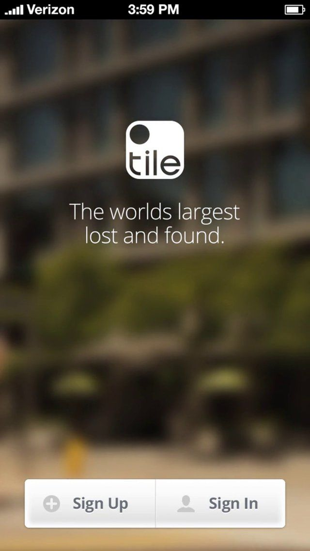 The Tile App   Tile trackers uses Bluetooth to remember an item's last location, tells you if you're getting closer, and sounds an alert to help you zero in on your missing item!