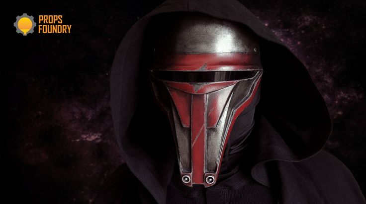 Darth Revan Sith Mask from Star Wars Kotor videogame. Cosplay mask and props http://www.propsfoundry.com/product/darth-revan-mask/