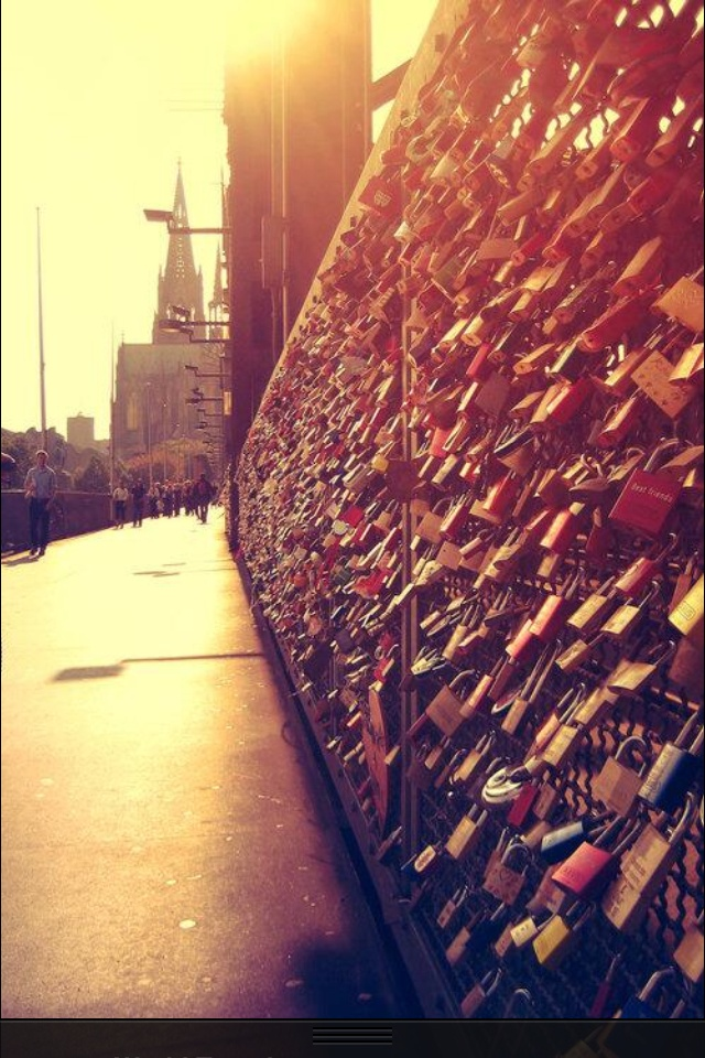 The lock bridge , France