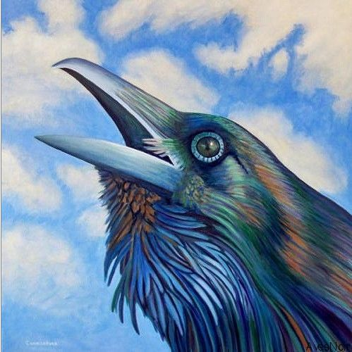 Brian Commerford Art   Meer dan 1000 ideeën over Ravenkunst op Pinterest - Kraaien, The ...