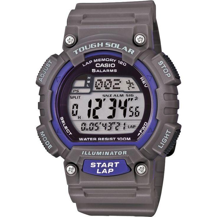 Casio Men's Tough Solar Runner Watch, Gray
