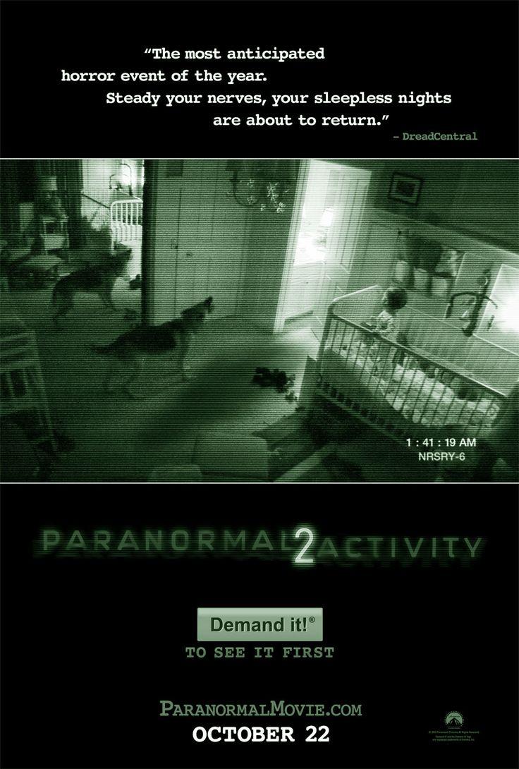 PARANORMAL ACTIVITY (2) is een in 2010 uitgebrachte psychologische horrorfilm die geregisseerd is door Tod Williams en geschreven door Michael R. Perry. Het is een vervolg op Paranormal Activity uit 2009. De release was op 22 oktober 2010, middernacht, in de Verenigde Staten, Mexico, Verenigd Koninkrijk en Canada.