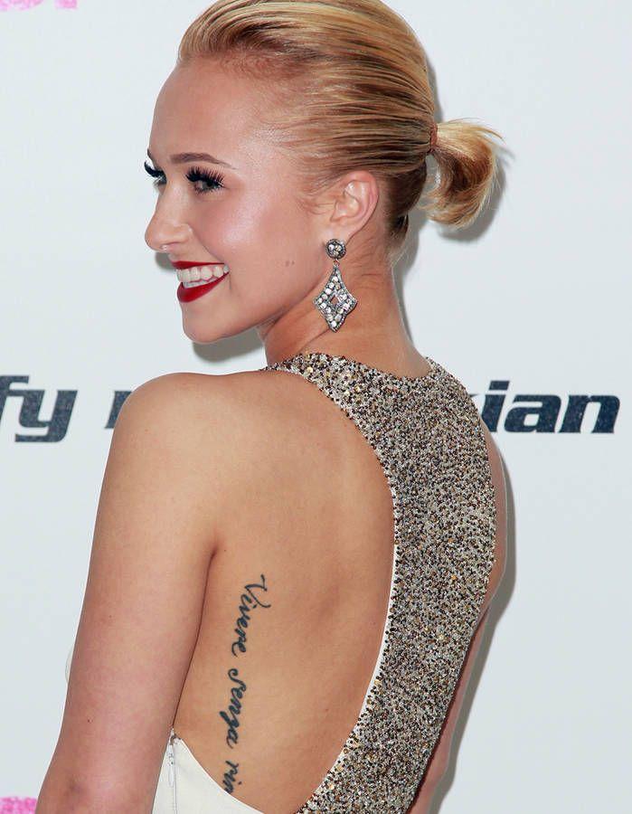 Le tatouage de Hayden Panettiere