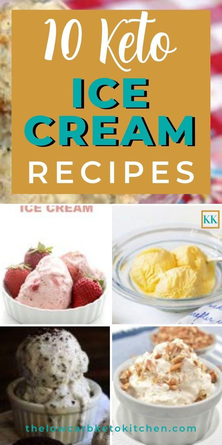 Top 10 Keto Ice Cream Recipes To Avoid A Summer Meltdown Keto