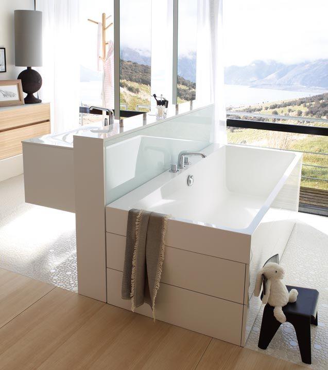 Границы между ванной и жилым помещением стираются