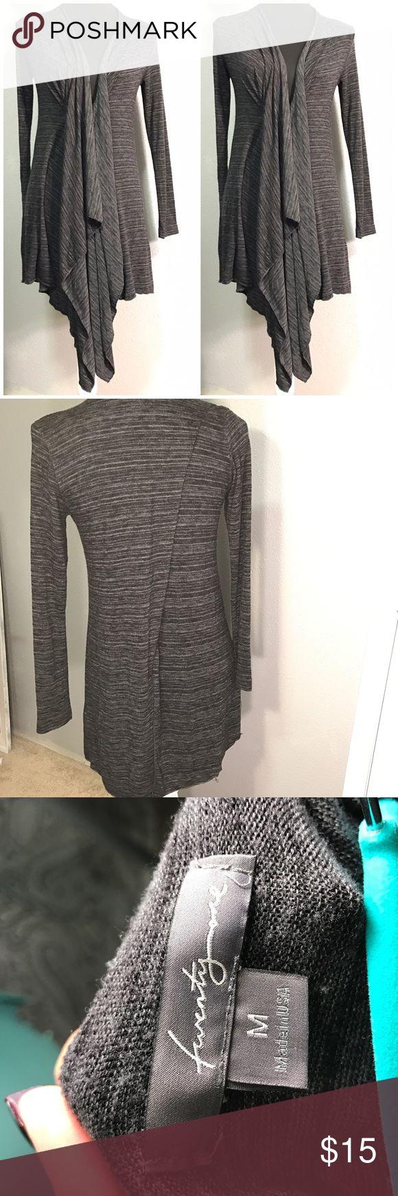 TwentyOne Grey Ash Cardigan Med TwentyOne Grey Ash Cardigan Med soft and comfortable, soft and comfy can be worn with a small T or tank, stretchy love this !!! TwentyOne Sweaters Cardigans
