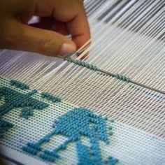 Perlenverstärktes Weben. – #Beadenhanced #Weaving…
