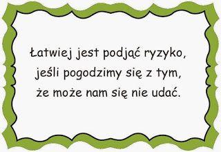 Sentencje ~ Zamiast kserówki.