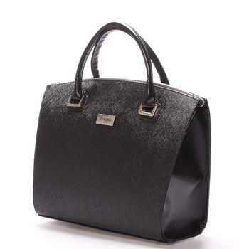 #bestseller #2016  Novinka našeho e-shopu. Luxusní model od značky Maggio je odrazem elegance, luxusu a stylovosti. Černá lakovaná kabelka Maggio Florida je opravdovým skvostem, perfektní tvar, jemné doplňky, čistota designu.. Boky a ucha kabelky jsou matné.