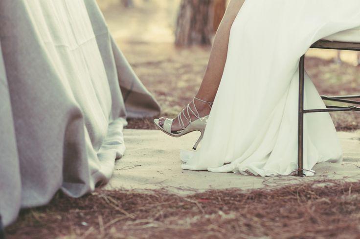 Sandalias preciosas