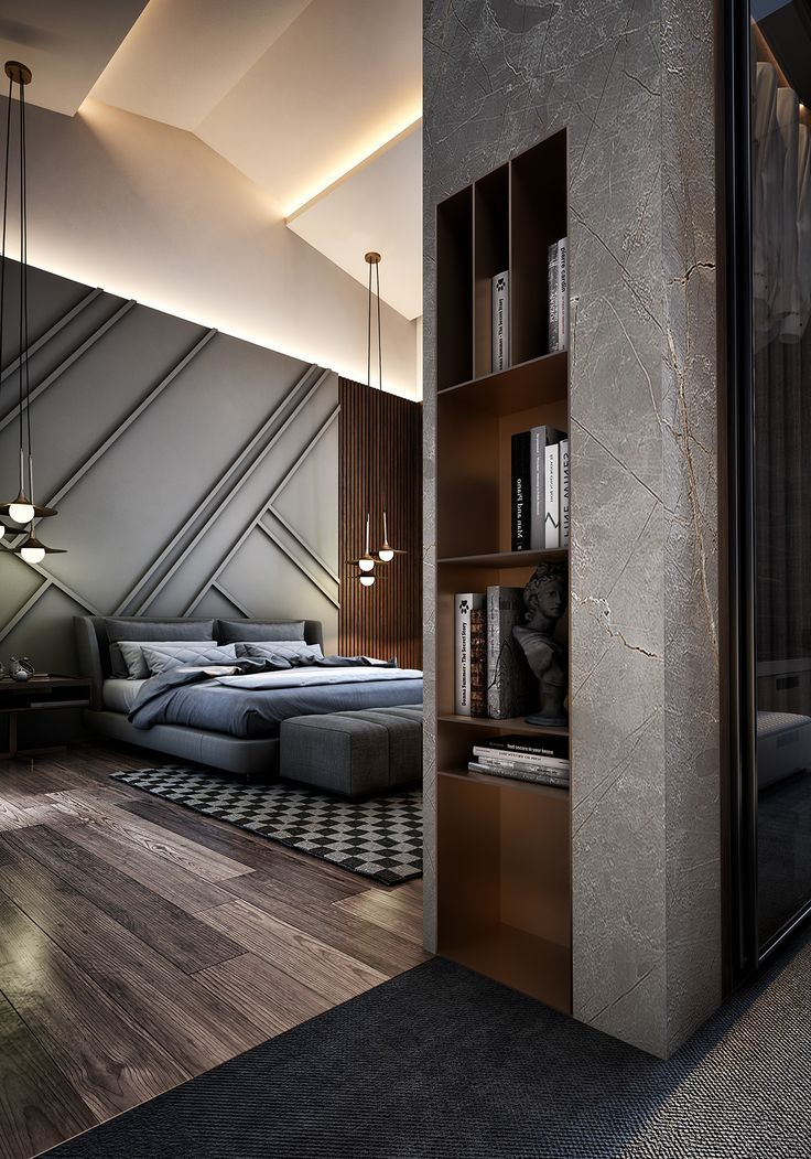Master bedroom design decoracion interiores pinterest Master en arquitectura de interiores