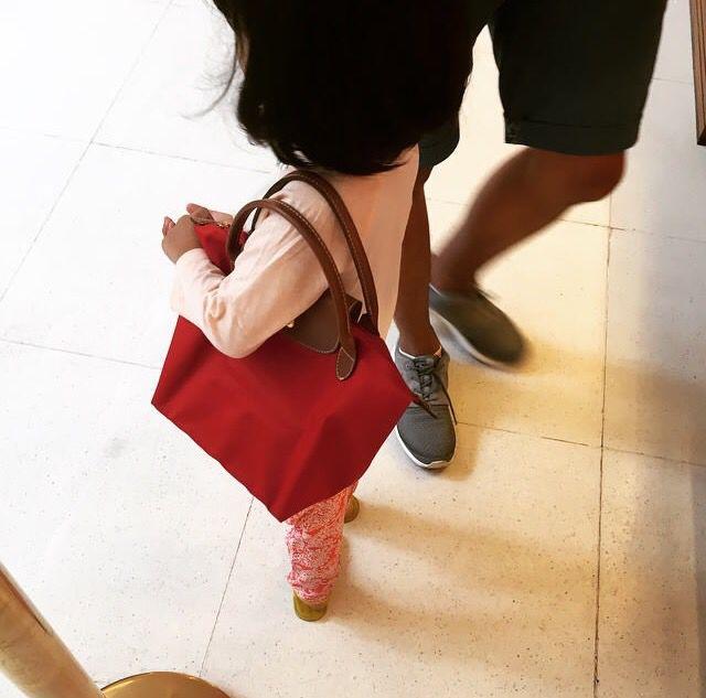 Latest Cheap Portable Longchamp Le Pliage Messenger Bag Beige