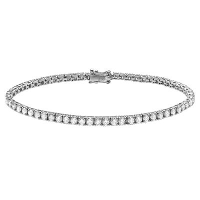 WHITE GOLD DIAMOND TENNIS BRACELET R82849, Temelli Jewellery