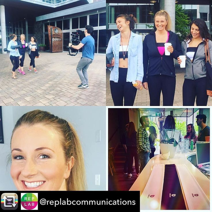 Repost from @replabcommunications - Shooting for @lovethebuband with the pros @riptidestudios @jlstudios @leap.xd -- eliminating boob bounce makes the world a better place! #yoga #womenrunning #gymrat