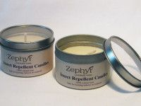 INSECT REPELLENT CANDLE - Keep those annoying flying insects away with these Insect Repellent Candles. The candle is made from the essential oils of lavender, eucalyptus, lemon and peppermint in an organic soy wax. These are safe to burn both inside and outside.