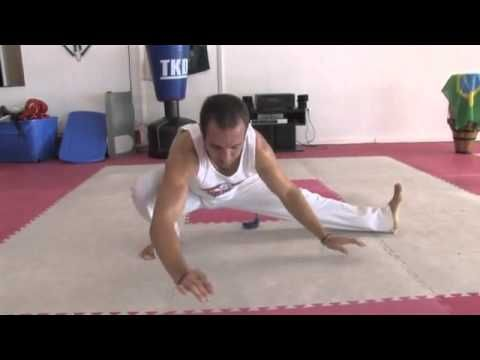 How to do Stretches in Capoeira - Capoeira Lesson with Brian