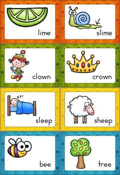 Worksheets Rhymes Words Examples 1000 images about rhyming on pinterest words word rhyme time set 2 140 cards that focus long vowels r