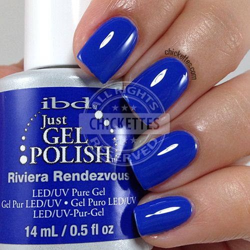 ibd Just Gel Polish - Riviera Rendezvous - swatch by Chickettes.com