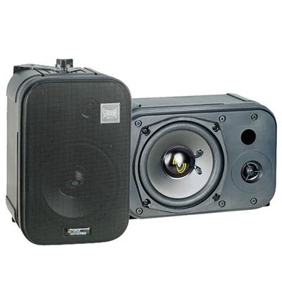 "The mountable PDMN48 is ideal for surround sound or sound monitor applications. Place it on a wall or ceiling to optimize your listening experience. It features a 5-inch long throw woofer and a one-inch high compliance tweeter in a rugged ABS cabinet.  * Excellent for Monitor or Surround Sound Applications  * 5"" Long Throw Woofer  * 1"" High Compliance Mylar Tweeter  * 200 Watts RMS/400 Watts Peak  * Frequency Response: 40Hz-22kHz  * 8 Ohm Impedance  * Vented Design for High Power & Deep Bass…"
