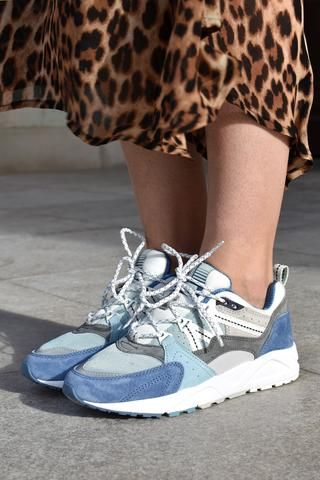 best service 99185 d0cab Karhu Fusion 2.0 Lunar Rock   Moonlight Blue Trainers   SHOES - Womens in  2019   Blue trainers, Sneakers, Shoes