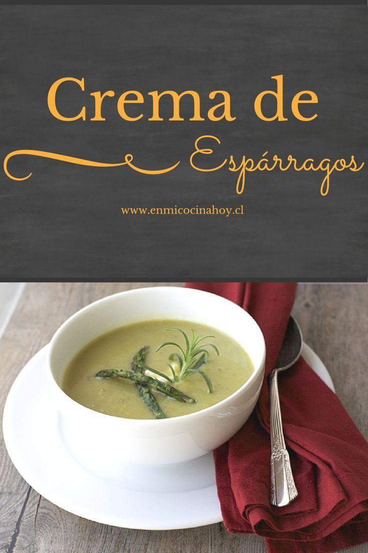 La crema de espárragos es una de las sopas más ricas y populares en Chile. Esta receta es fácil y deliciosa.