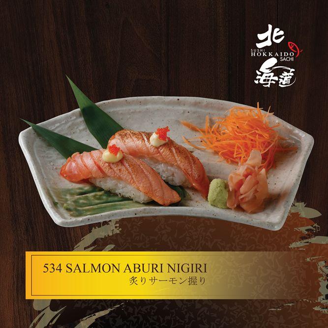 Salmon Aburi Nigiri