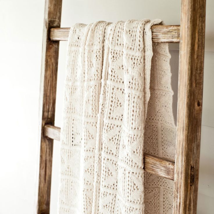 Reminiscent of grandmas craft, these knitted blankets bring warmth and comfort to children's spaces with their natural colour palette and supremely soft feel. Made from long staple yarns, they are individually knitted, preshrunk and tumbled dried ready to become treasured blankets by their little owners.  Available colours: white, sand and mocha.