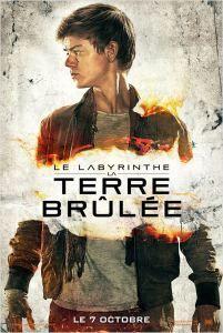 Le Labyrinthe 2 : La Terre Brûlée avec Dylan O'Brien. Retrouvez ma chronique sur mon blog!