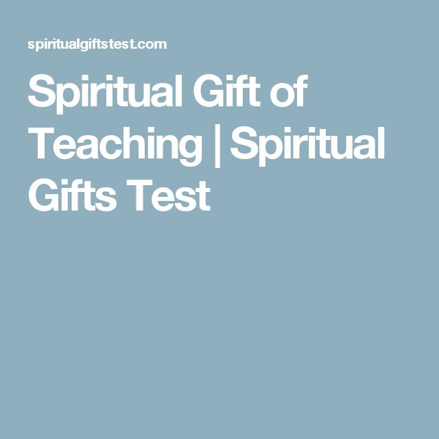 Best 25 spiritual gifts test ideas on pinterest do anything spiritual gift of teaching spiritual gifts test negle Image collections