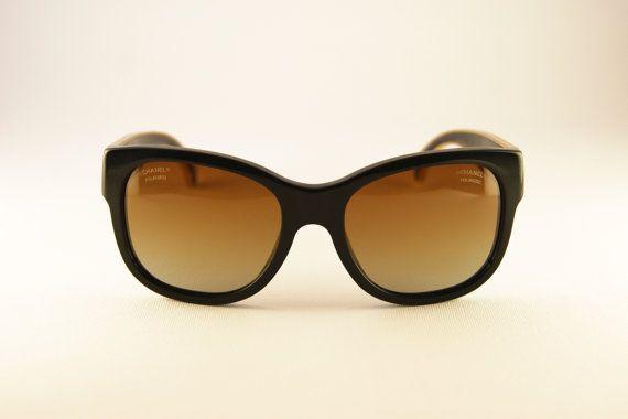 #Chanel #sunglasses #goldplated con lenti di MarinaVintageItaly su Etsy