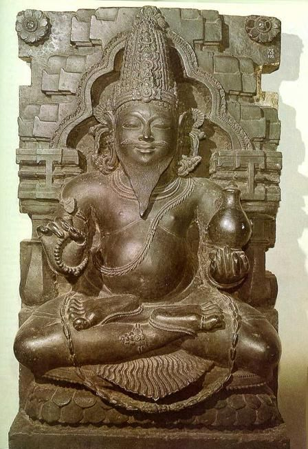 Statue of Brihaspati (Jupiter)