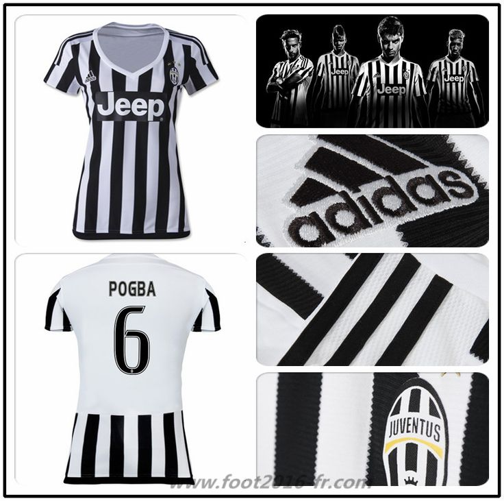 boutique de maillot foot juventus pogba 6 femme domicile. Black Bedroom Furniture Sets. Home Design Ideas
